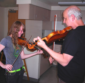 Randal Bays fiddle lesson